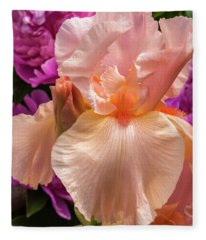 Beverly Sills Iris Fleece Blanket
