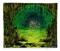 Beyond The Bridge  Fleece Blanket