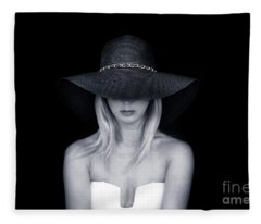 Beyond The Darkest Depths Fleece Blanket
