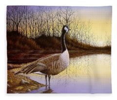 Beyond The Horizon Fleece Blanket