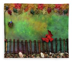 Beyond The Iron Gate Fleece Blanket