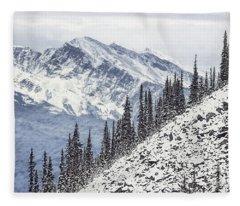 Beyond The Northern Hills Fleece Blanket