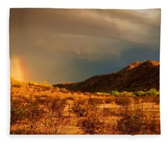 Beyond The Rainbow Fleece Blanket