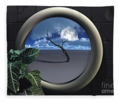 Beyond Walls Fleece Blanket