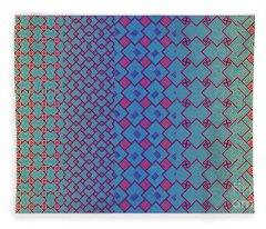 Bibi Khanum Ds Patterns No.3.1 Fleece Blanket