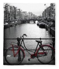 Bicycle 2 Fleece Blanket