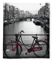 Bicycle 2 Fleece Blanket