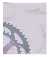 Bicycle Chain Ring - 2 Of 4 Fleece Blanket
