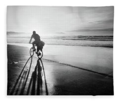 Bicycles Are For The Summer Fleece Blanket