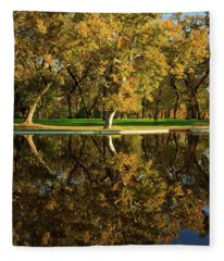 Bidwell Park Reflections Fleece Blanket