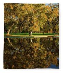 Bidwell Park Reflections Fleece Blanket