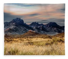 Big Bend Hill Tops Fleece Blanket