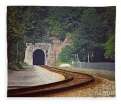 Big Bend Tunnel  Fleece Blanket