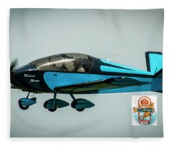 Big Muddy Air Race Number 100 Fleece Blanket