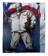 Big Pun Fleece Blanket