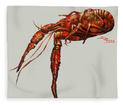 Big Red Fleece Blanket