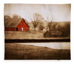 Big Red Fleece Blanket
