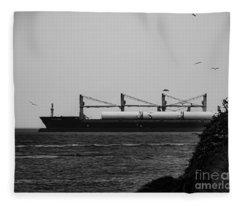 Big Ship Fleece Blanket