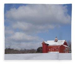 Big Sky Farm Fleece Blanket
