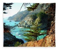 Big Sur Vista Fleece Blanket