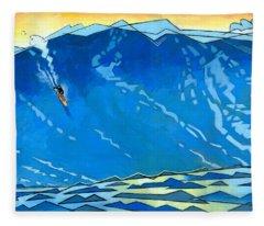 Surfer Fleece Blankets