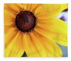 Big Yellow Fleece Blanket