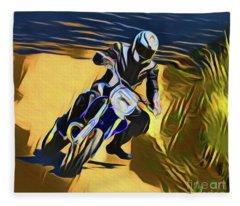 Biker 21018 Fleece Blanket