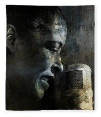 Billie Holiday - All That Jazz Fleece Blanket