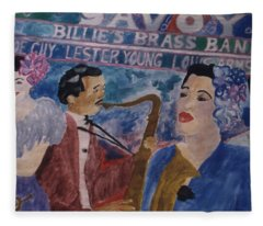 Billie's Brass Band Fleece Blanket