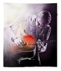 Billy Corgan Fleece Blanket