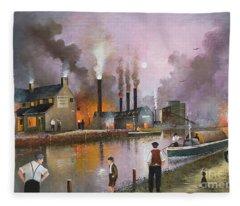 Bilston Steelworks Fleece Blanket
