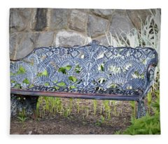Biltmore Bench Fleece Blanket