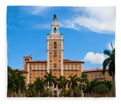 Biltmore Hotel Fleece Blanket