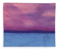 Bimini Sunrise Fleece Blanket