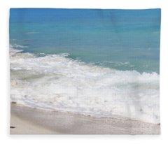 Bimini Wave Sequence 6 Fleece Blanket