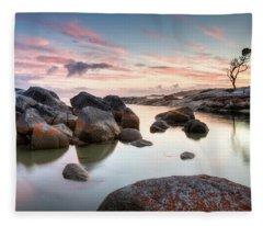 Binalong 1 Fleece Blanket