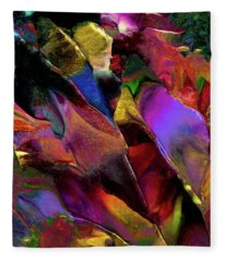 Binary Star System Fleece Blanket