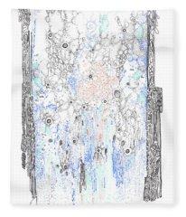 Bingham Fluid Or Paste Fleece Blanket