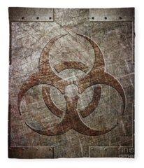 Bio Hazard Fleece Blanket
