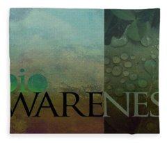 bioAWARENESS II Fleece Blanket