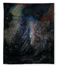 Biospheres Ipo - The World As Will And Representation - Arthur Schopenhauer - Ecological Footprint  Fleece Blanket