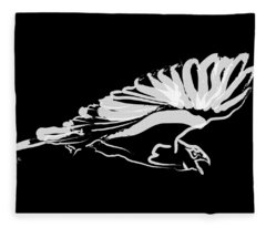 Bird Buzzard  Fleece Blanket