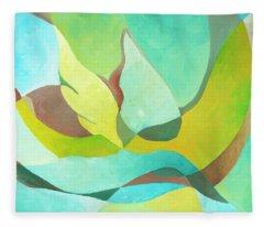 Bird In Flight Fleece Blanket