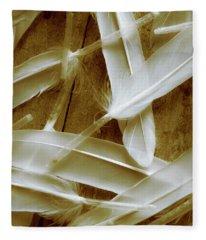 Bird-less Of A Feather Fleece Blanket