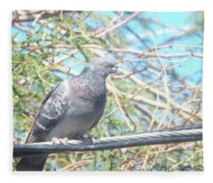 Bird Watchman Fleece Blanket