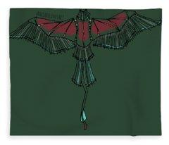 birdEYE volcano III Fleece Blanket