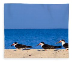 Birdline Fleece Blanket