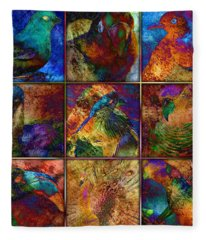 Birds Fleece Blanket
