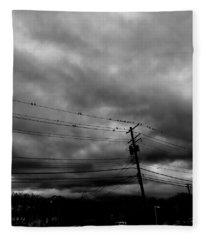Birds On A Wire 2018 Fleece Blanket