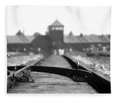 Birkenau / Auschwitz Railhead - Pol402324 Fleece Blanket